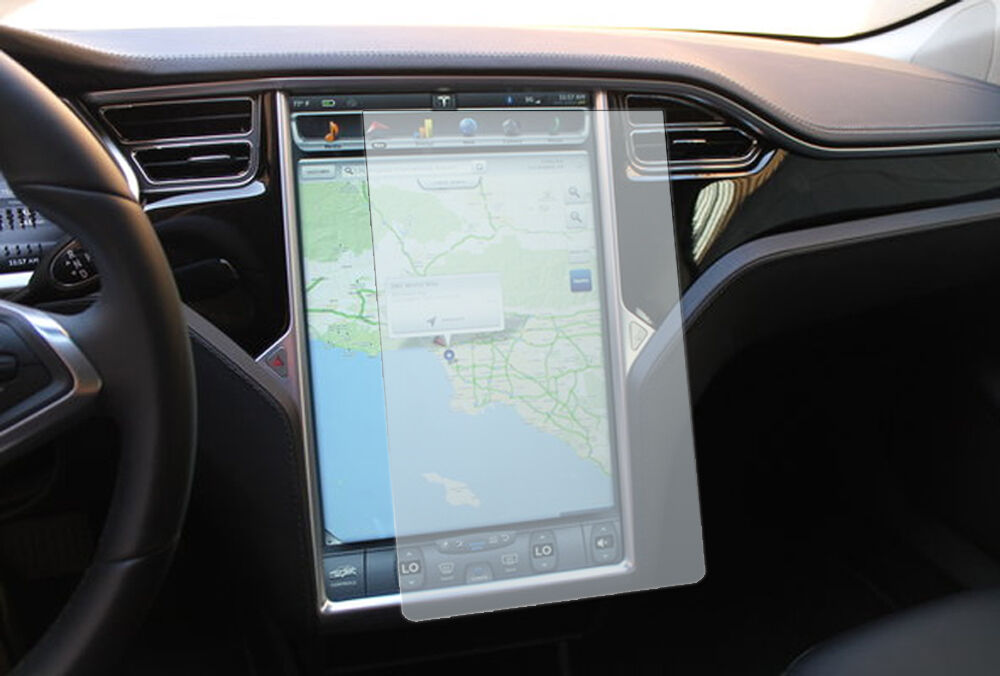 Custom Clear Screen Protector For Tesla Model S Touch
