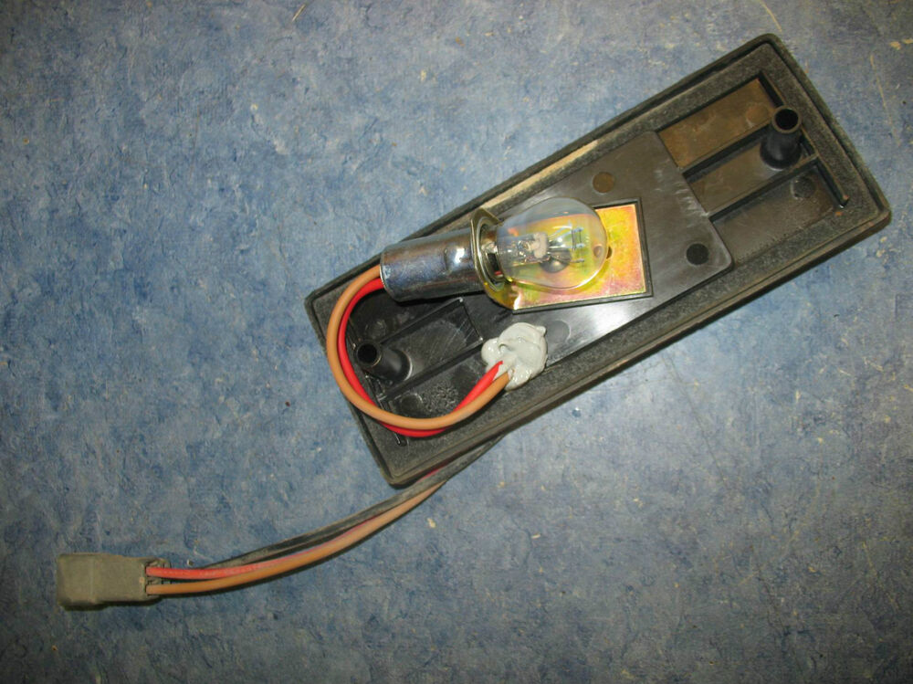 Tail Light Rear Plate Main Wiring 2002 Can