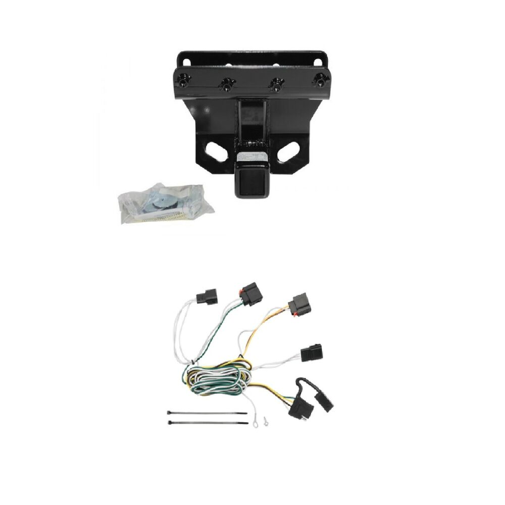 Class 3 Trailer Hitch Receiver  U0026 Wiring Package For Jeep