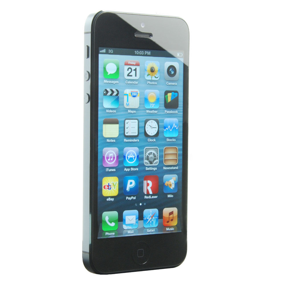 apple iphone 5 latest model 32gb black slate. Black Bedroom Furniture Sets. Home Design Ideas