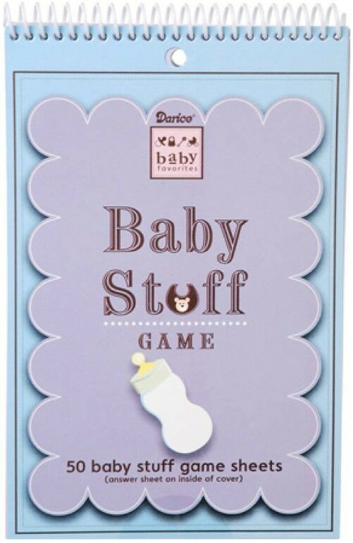 Things For Baby Showers Uk ~ Baby shower stuff game sheets darice brand new
