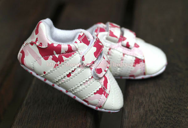 baby pink camo sport shoes soft sole walking sneakers