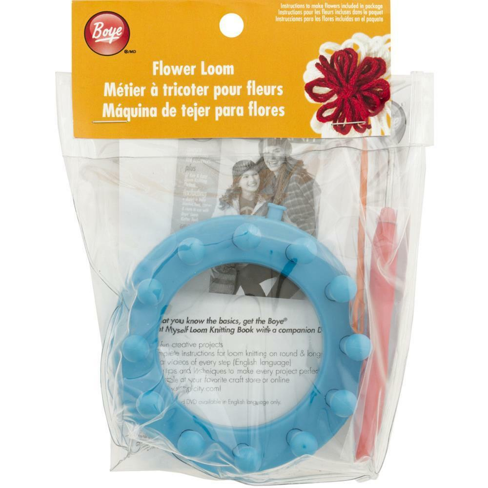 Knitting Hook Walmart : Sale boye flower loom set hook needle