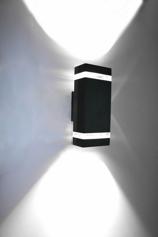 Up/Down LED Outdoor Light Fixture Wall Sconce Lamp Bulb
