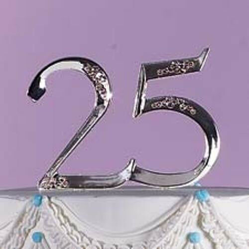 Wilton Th Anniversary Cake Topper