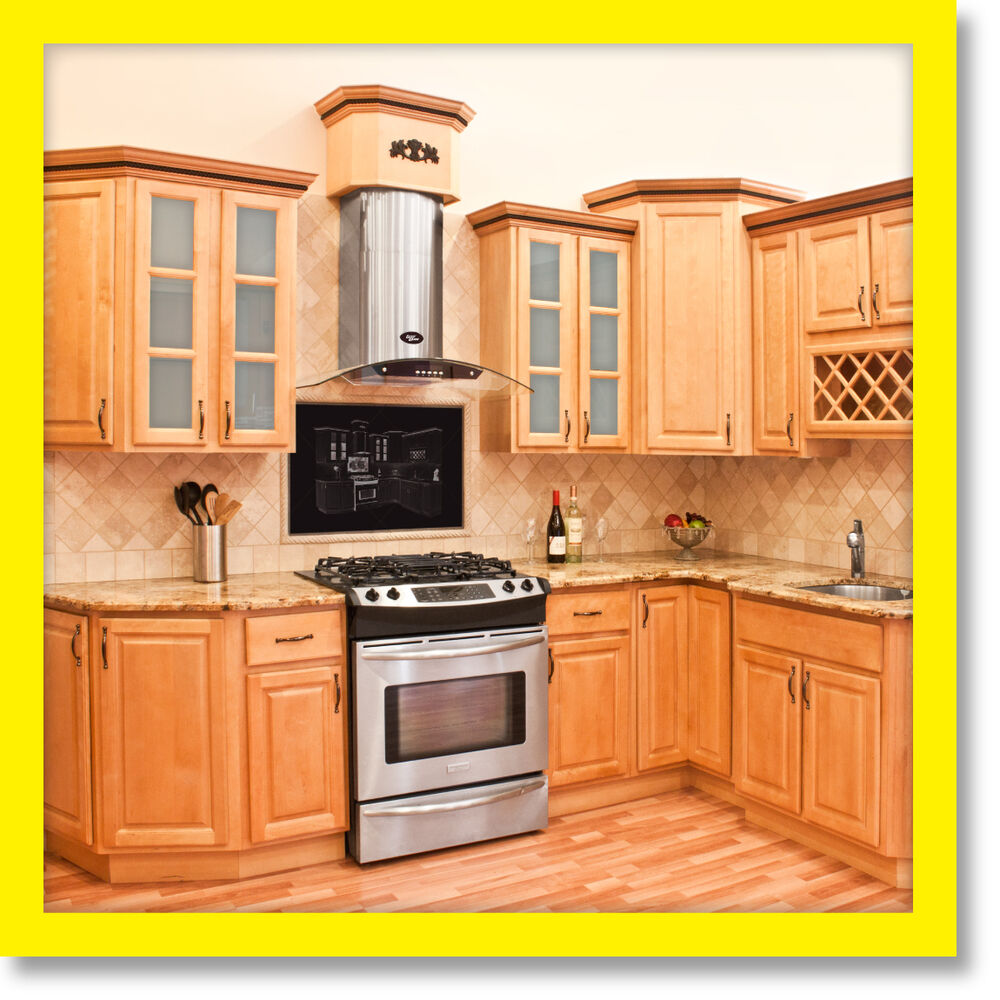 Furniture Kitchen Cabinets: All Wood KITCHEN CABINETS 10x10 RTA Richmond
