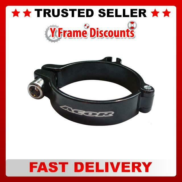 Acor Front Derailleur Alloy Clamp With Cable Stop 28 6mm