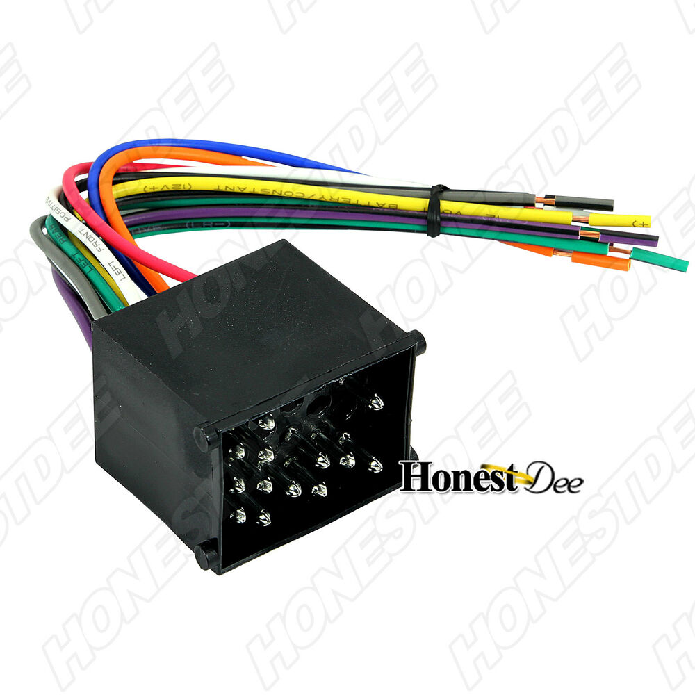 Aftermarket Car Wiring Harness Opinions About Diagram Stereo Adapter Radio To Bmw Wire Plug 70 8590 Ebay Automotive