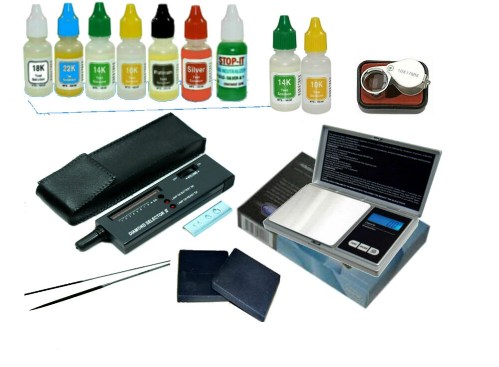 Gold And Silver Tester : Affordable gold silver diamond testing scale