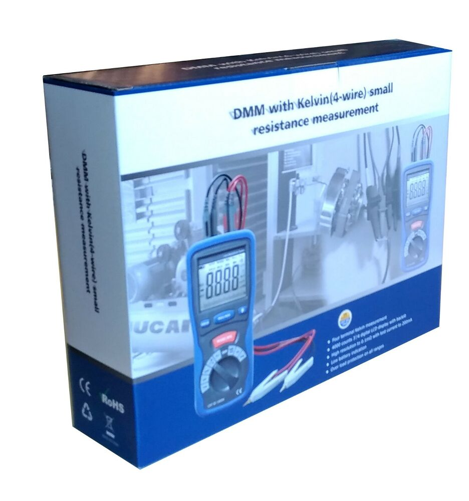 Small Amp Meter : Dt small resistance wire kelvin ohm capacitance