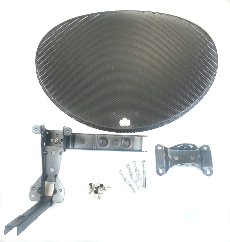 Zone 1 Sky Satellite Dish Face Amp Bracket Pack Freesat Ebay