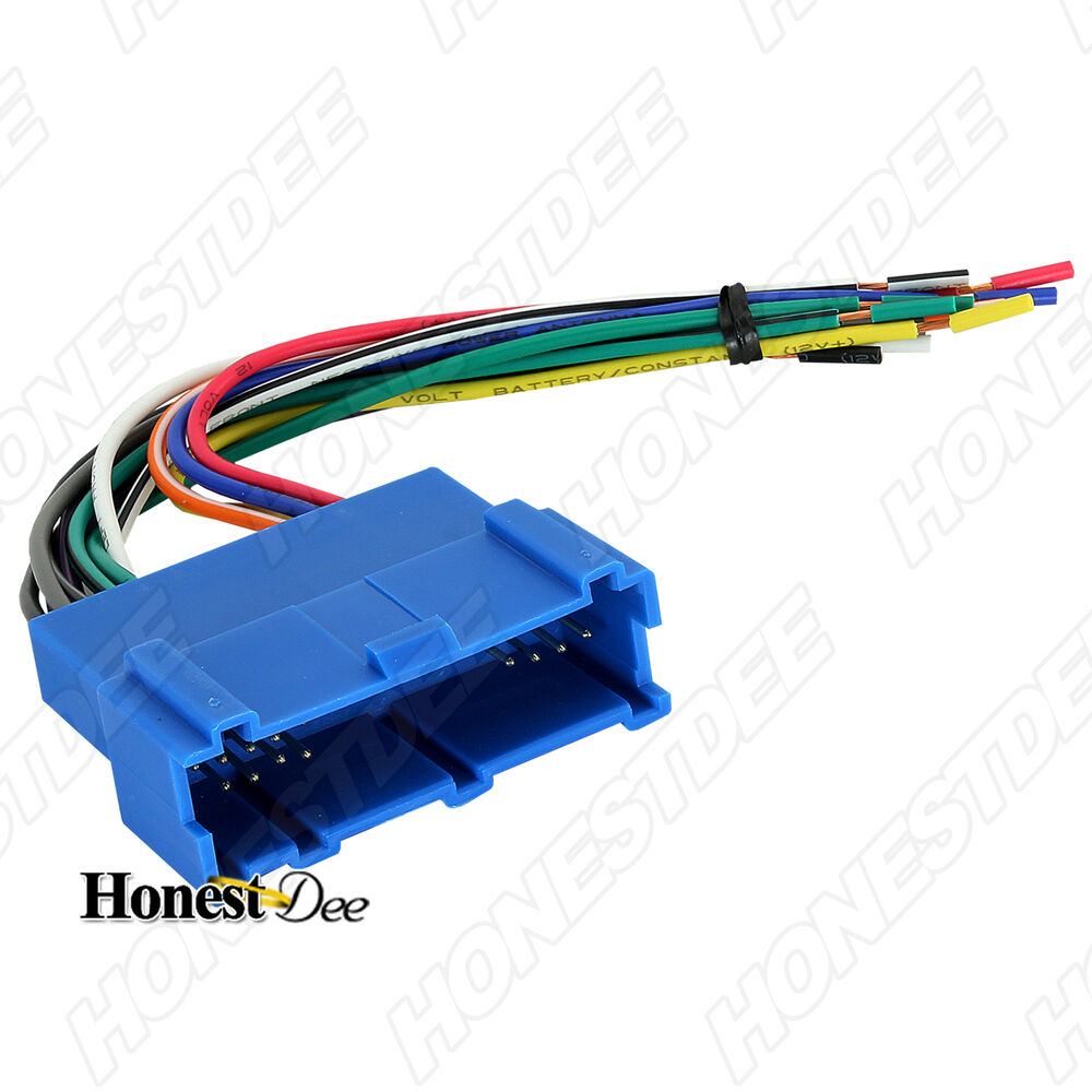 aftermarket car stereo  radio to oldsmobile wiring  wire Aftermarket Car Stereo Wiring Harness Module