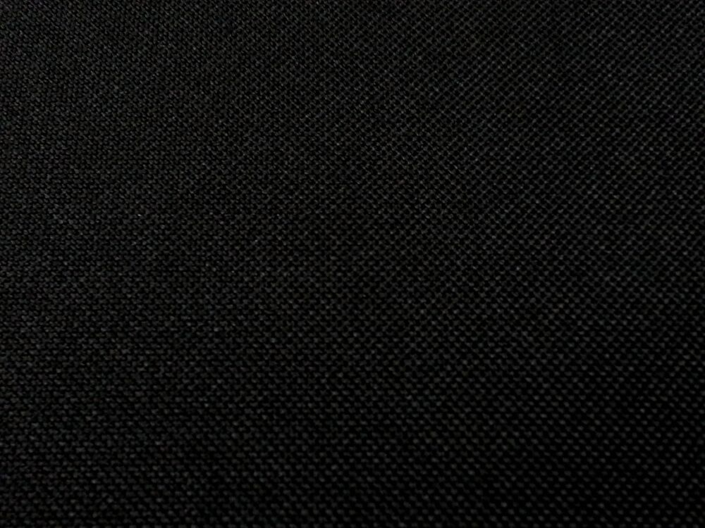 Hard wearing waterproof black canvas fabric 1000d pu for Black fabric