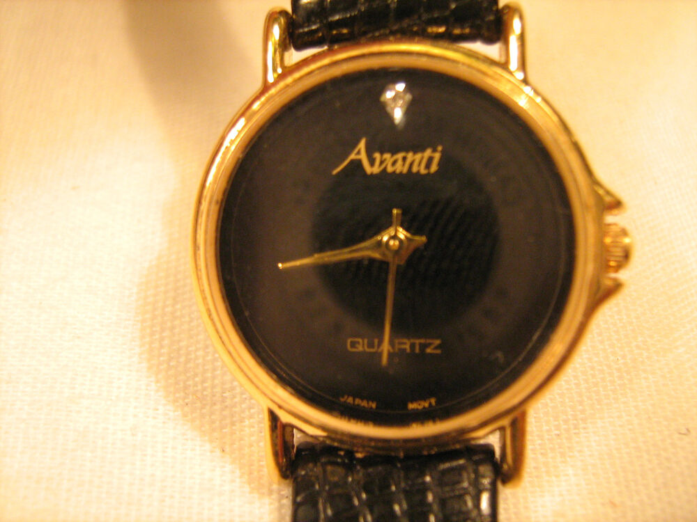 Working watch women 39 s avanti quartz japan movt new battery b5 ebay for Celebrity quartz watch japan movt
