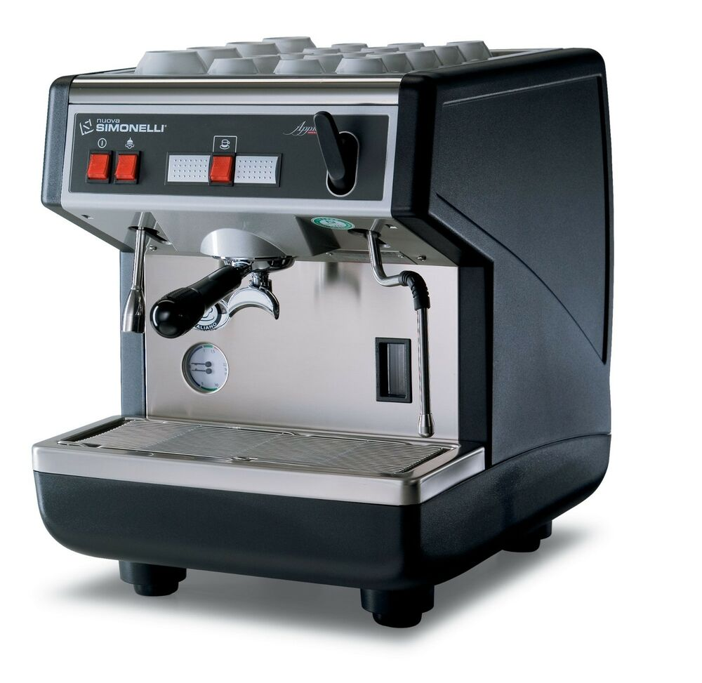 nuova simonelli appia semi auto 1 group espresso machine. Black Bedroom Furniture Sets. Home Design Ideas