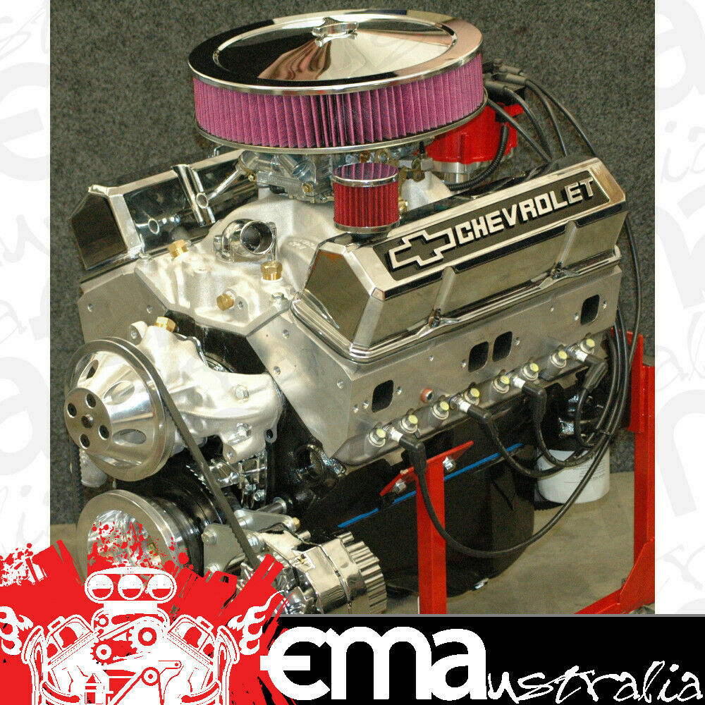 Chevrolet turnkey 383 stroker engine alloy heads 420hp 450 for List of chevy motors