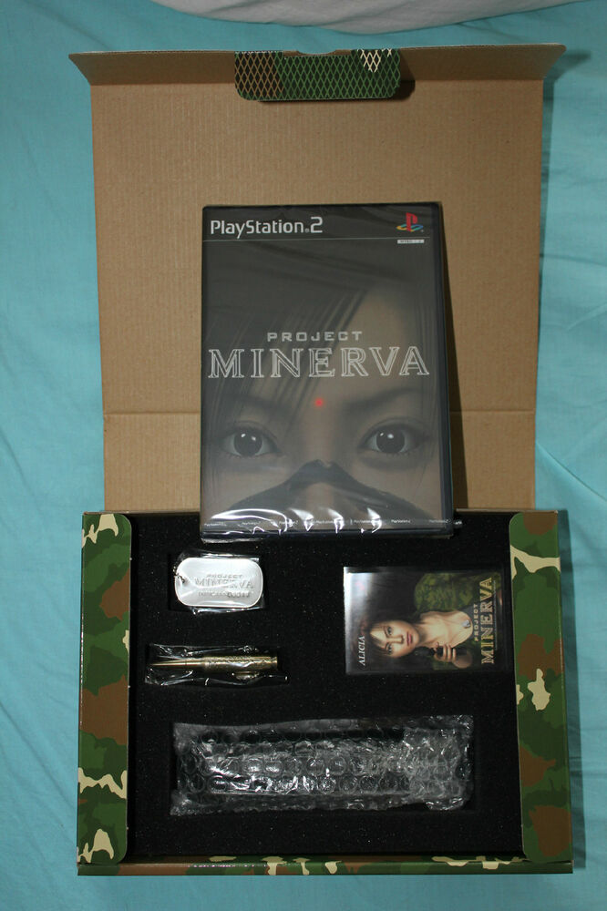 Project Minerva (LIMITED EDITION JAPAN PS2 IMPORT BUNDLE ...
