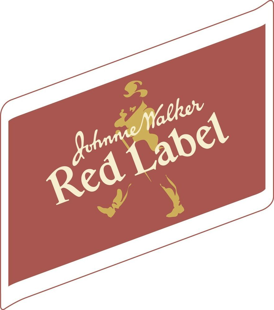 It is a graphic of Punchy Black Label Red Label Difference