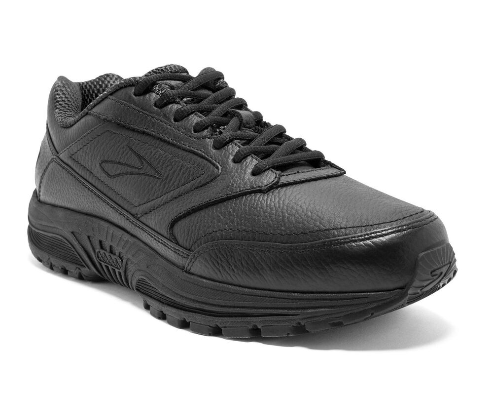 587f0fe6c61 Details about Brooks Dyad Walker Mens Leather Shoes (IDEAL FOR ORTHOTICS) +  FREE DELIVERY