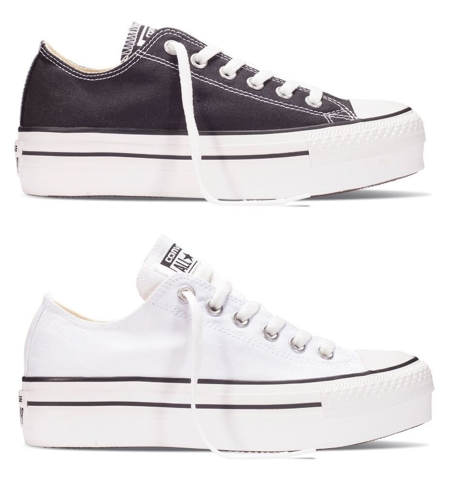 new converse chuck taylor all star black white low. Black Bedroom Furniture Sets. Home Design Ideas