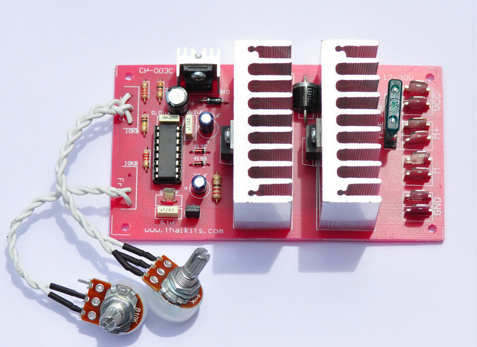 Hho 132khz Pwm And Dc Motor Speed Control 30a Max Plus