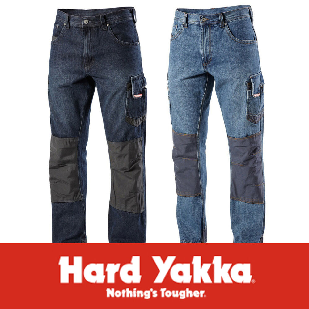Hard Yakka Denim Blue Legends ALL SIZES Cotton Denim Work ...