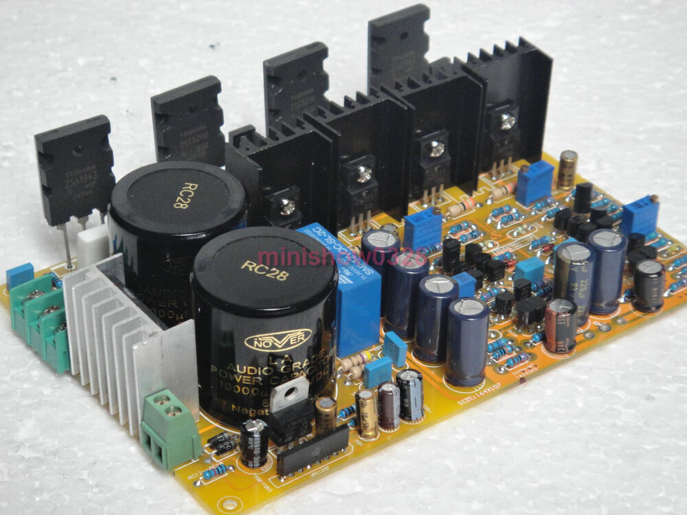 diy kit fet difference input audio power amplifier board designed by weiliang ebay. Black Bedroom Furniture Sets. Home Design Ideas
