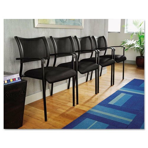 Lot Of 8 Mesh Stackable Reception Area Guest Side Office Chairs Ebay