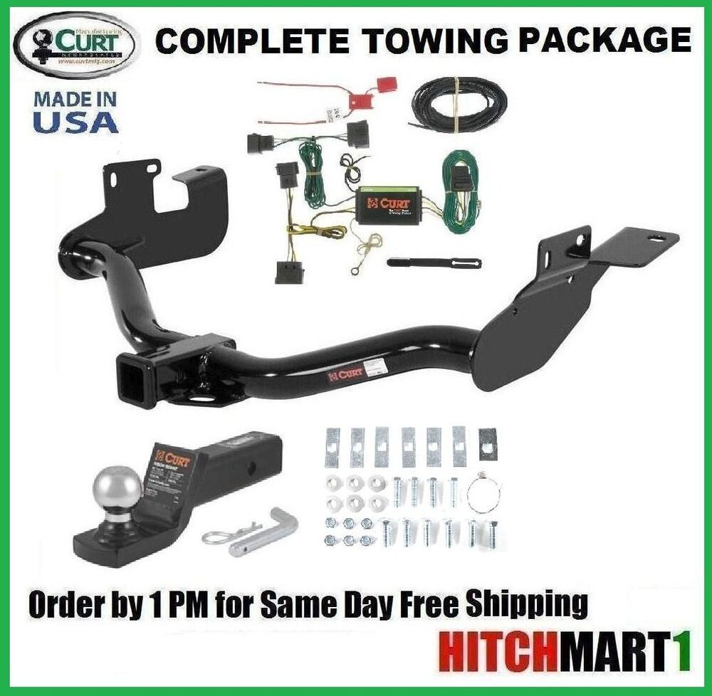 trailer hitch complete package for 2008 2012 ford escape class 3 2 quot receiver ebay