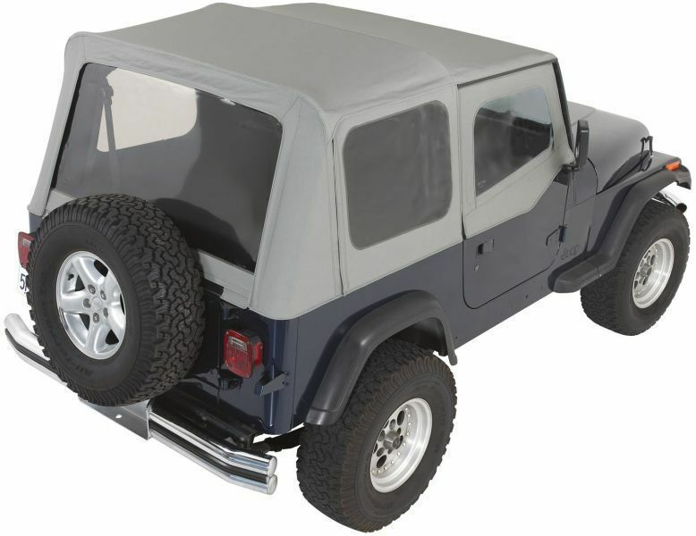 rampage complete soft top w frame 87 95 jeep wrangler yj. Black Bedroom Furniture Sets. Home Design Ideas