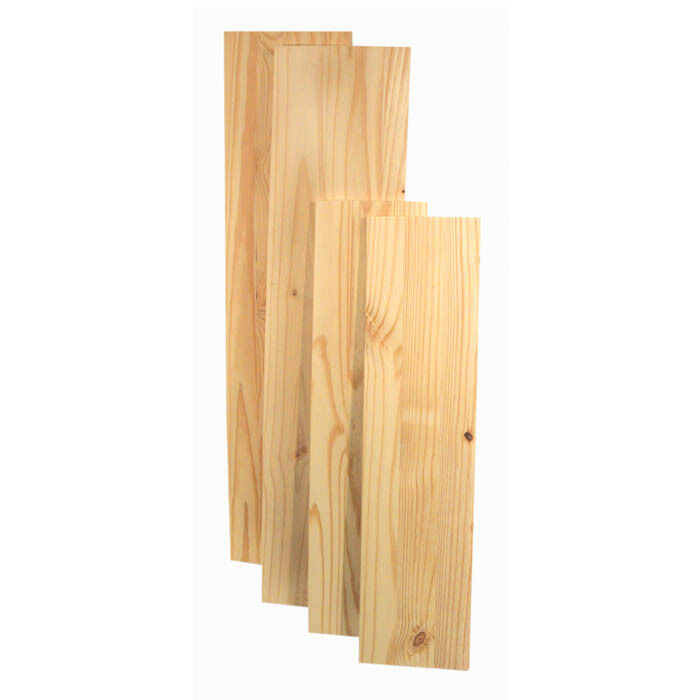 Natural Solid Wood Shelf Boards Various Sizes of Wooden Shelving ...