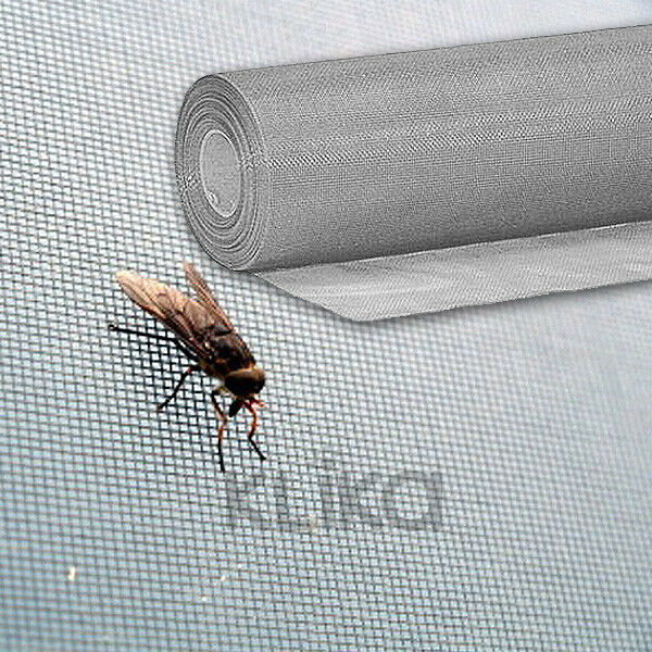 100ft 30m roll insect flywire window fly screen net mesh for Roll up insect screens for windows