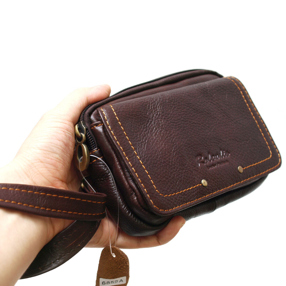 Case Design mens wallet cell phone case : New Brown Menu0026#39;s Leather Wallet Pocket Belt Loops Waist Bag Handbag ...