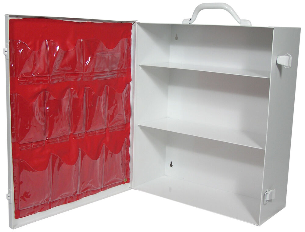 First Aid Three Shelf Metal Cabinets Welded Design With