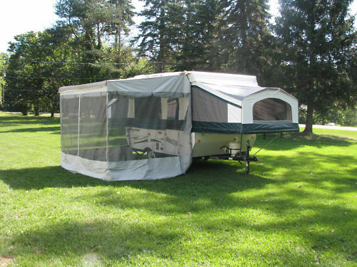New A Amp E Trimline Zipper Add A Room For 9 Pop Up Awning