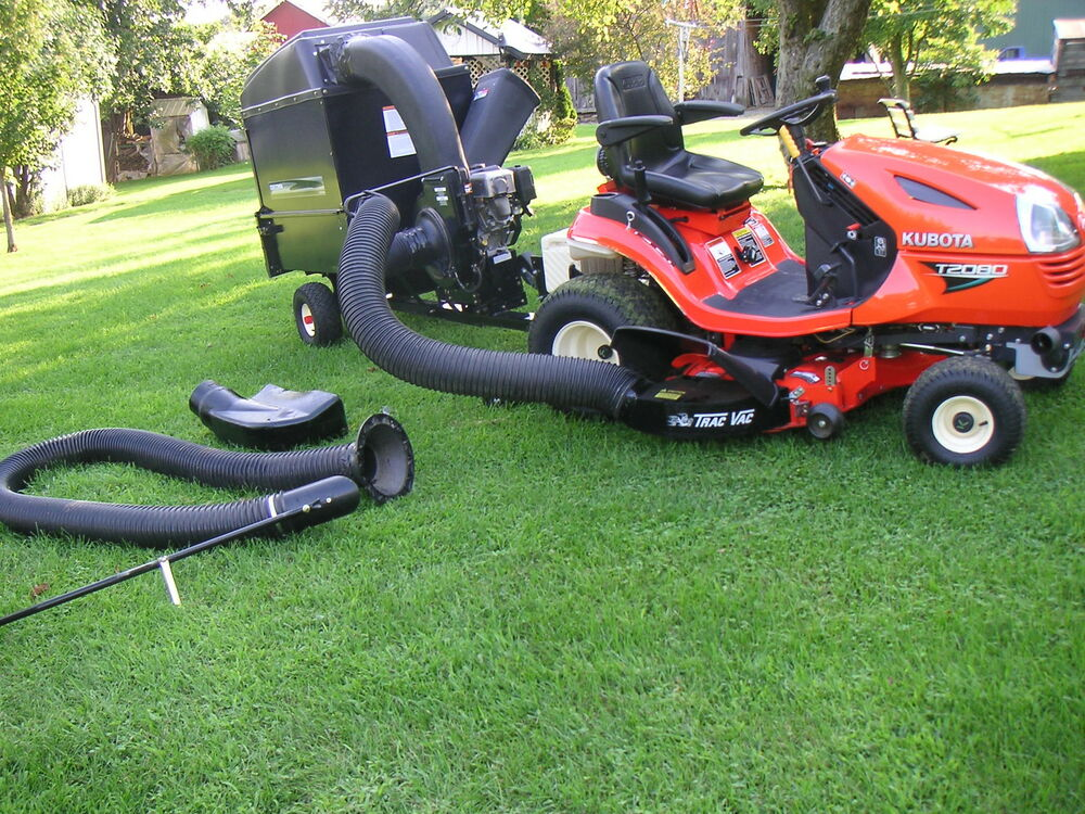 Sears Craftsman Lawn Vacuum And Chipper : Sears craftsman vacuum chipper lawn tractor trac vac yard