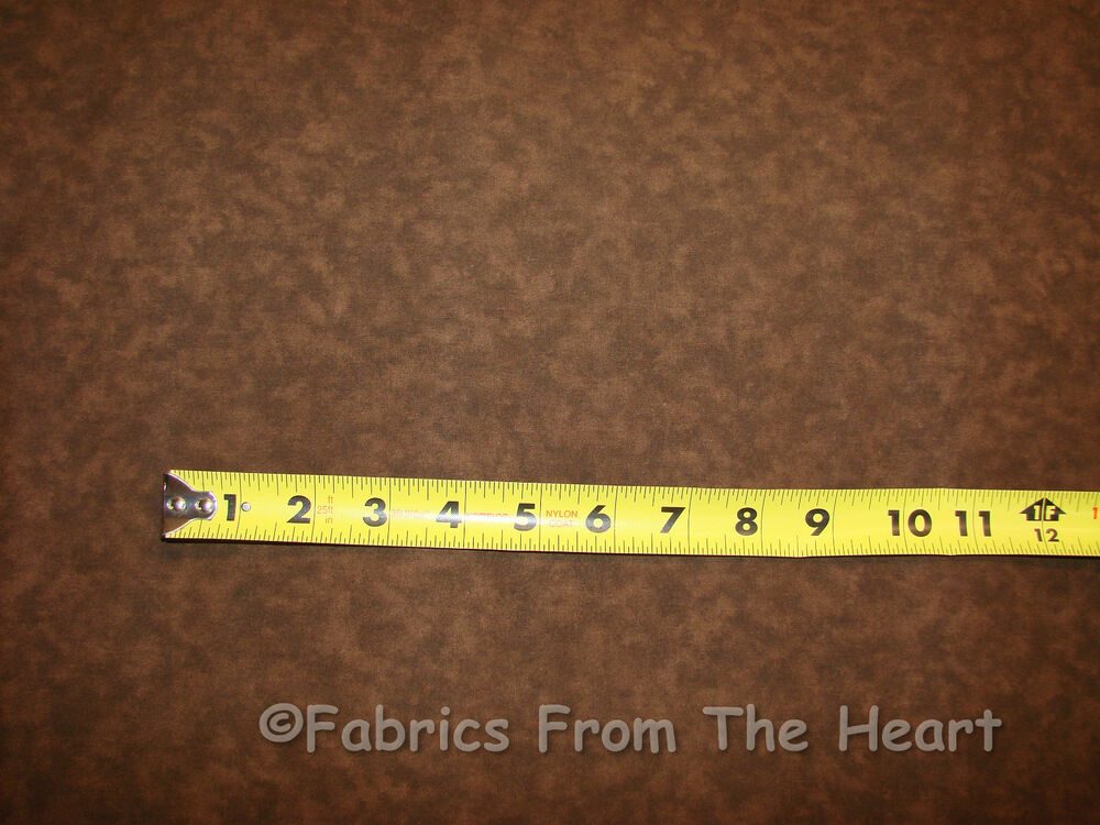 108 Wide Chocolate Brown Blender 26x44 Inch Quilt Backing