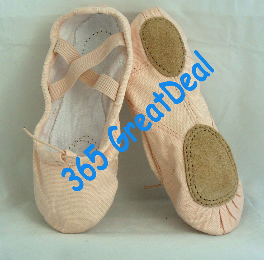 s canvas pink ballet shoes slippers szie 5 9