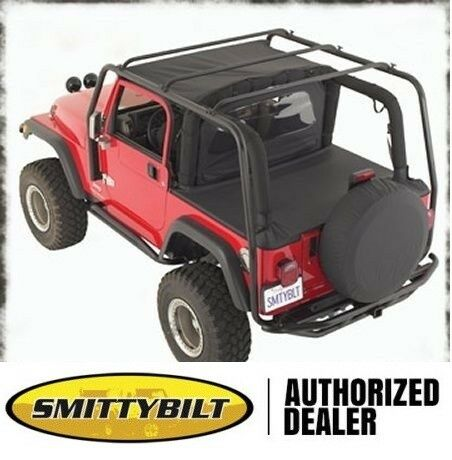 smittybilt src roof rack 2004 2006 jeep wrangler lj. Black Bedroom Furniture Sets. Home Design Ideas