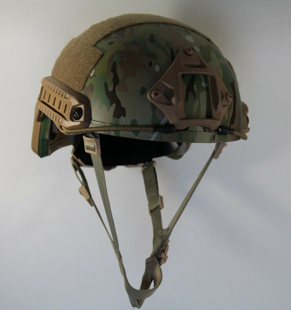 Military Equipment Are the helmets that soldiers wear
