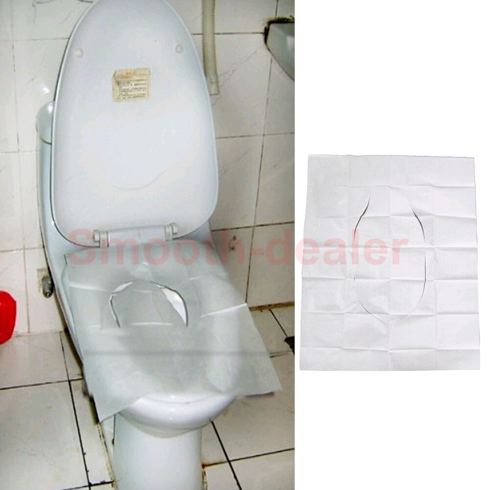 New 1 Pack 10pcs Disposable Paper Toilet Seat Covers For