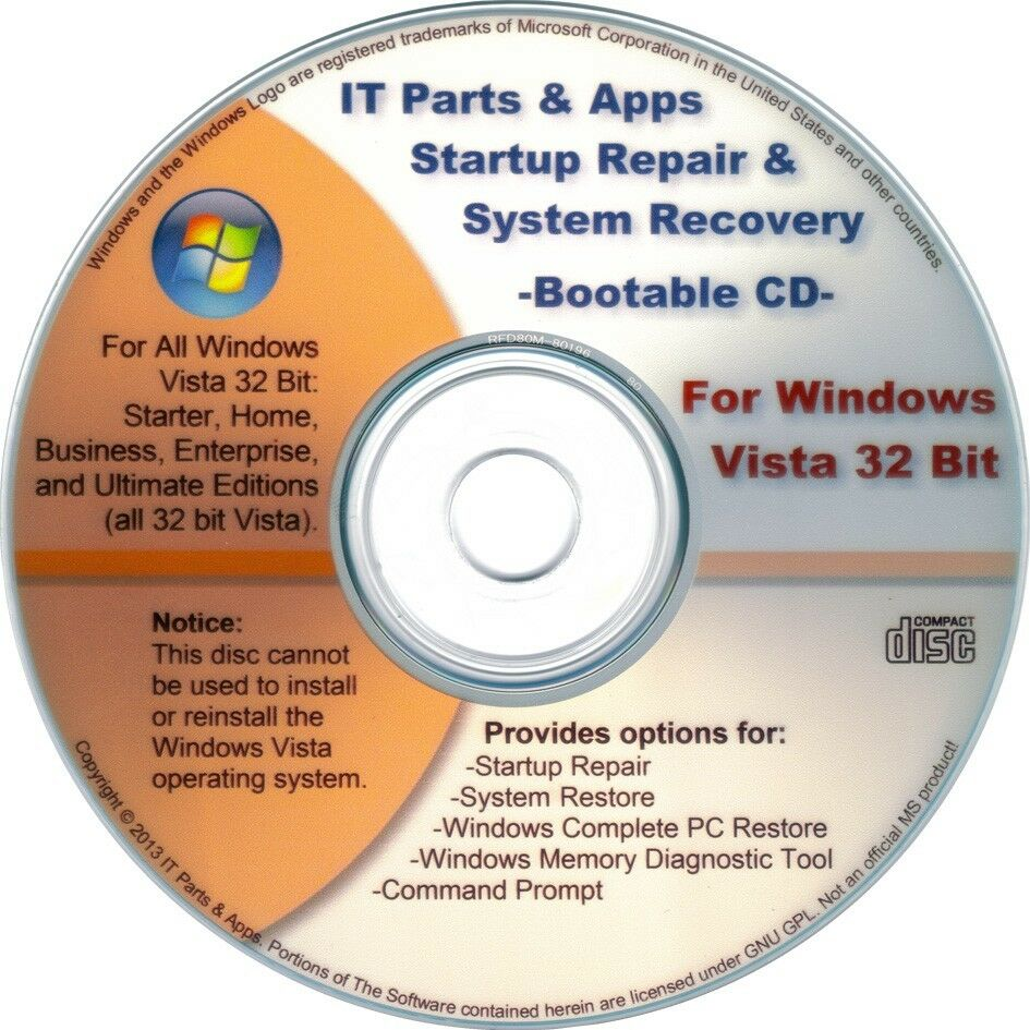 **Win XP & 7 Professional Repair Boot Recovery Fix Restore ...