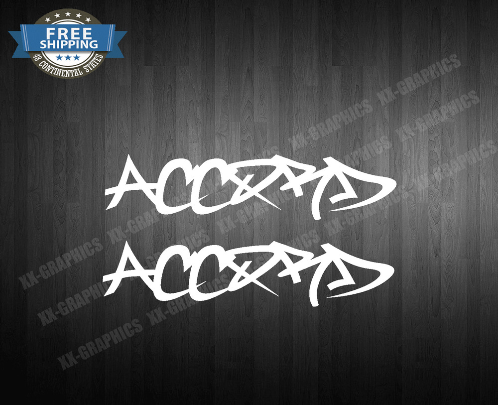 Honda Accord Stickers Custom Vinyl Decals - Stickers for honda accord