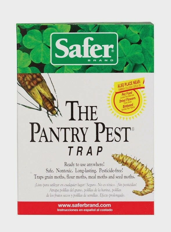2pk Safer Pantry Pest Trap Moths Flying Insects Ready To