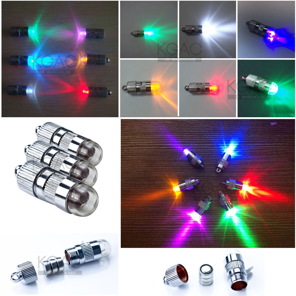 Led Decoration Lights: LED Balloon Lights For Wedding Birthday Party Decoration