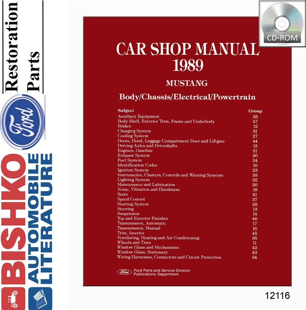 ford technical service publications cd