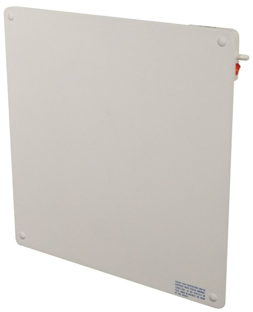 Wall Mount Heater With Thermostat : Eco heater wall mounted v ceramic convection