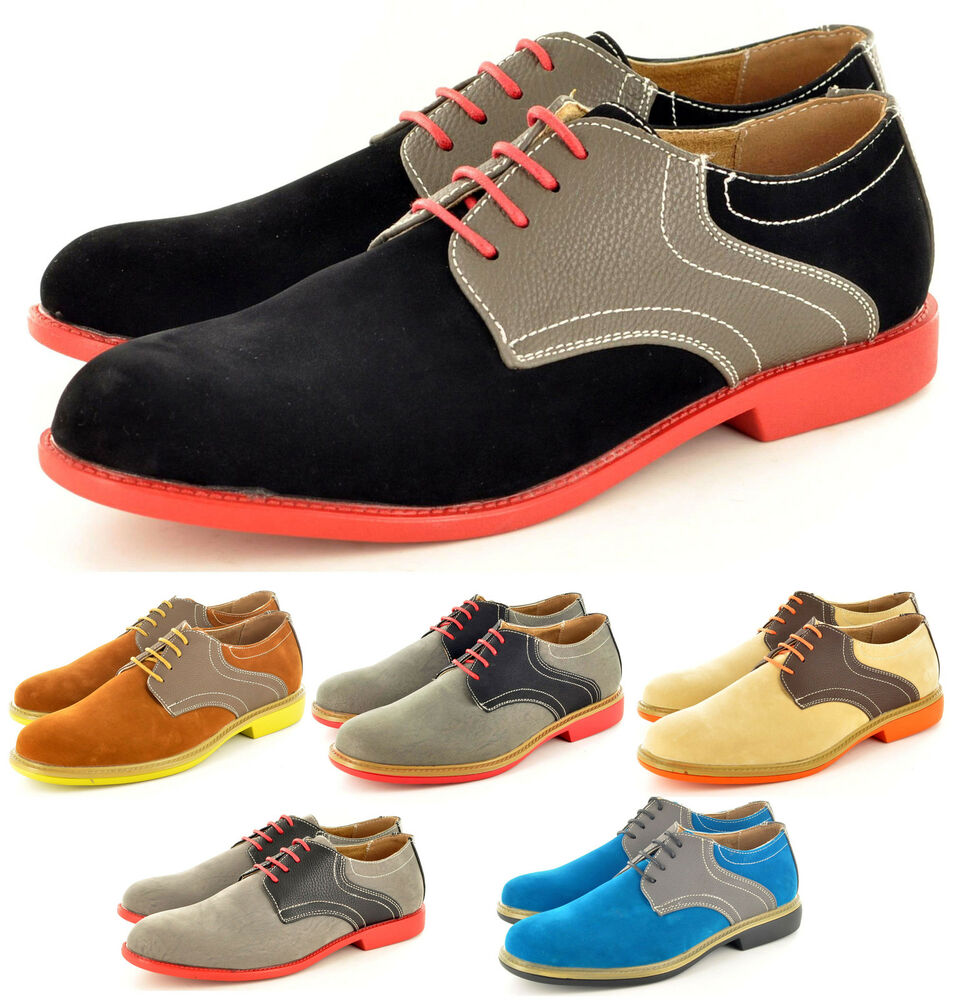 New Men's Casual Formal Lace Up Brogue Designer Shoes In
