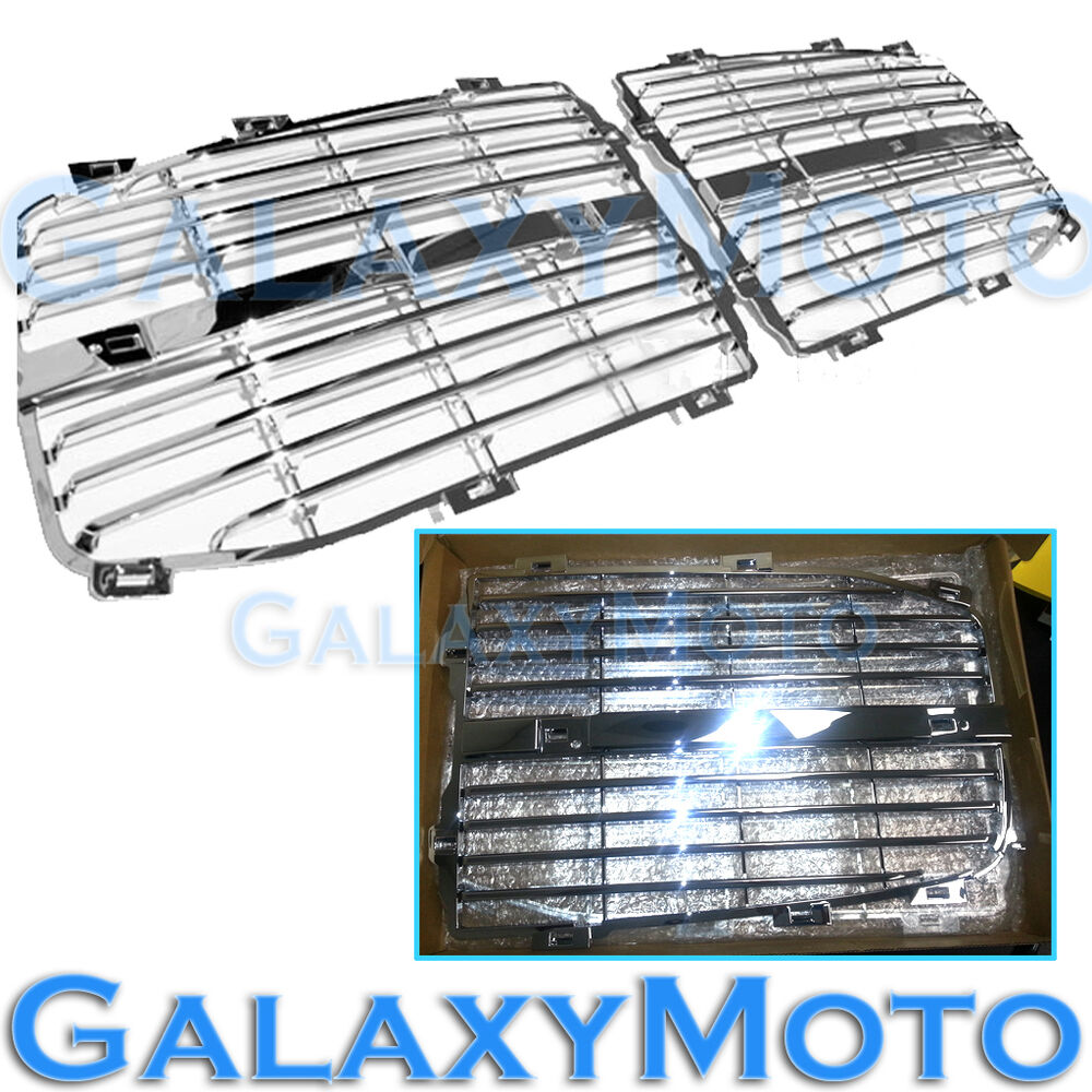 Dodge ram chrome grille replace grill
