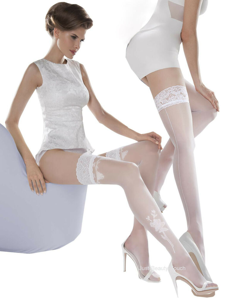 Wedding Colection By Gabriella Hold Ups Stockings Ladies